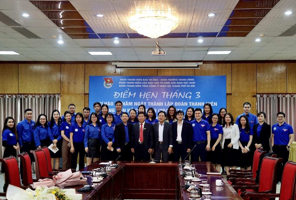 Đoàn thanh niên 3 cơ quan phối hợp tuyên truyền về truyền thống vẻ vang của Đoàn TNCS Hồ Chí Minh