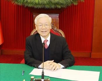 Lãnh đạo Đảng, Nhà nước, Chính phủ điện mừng kỷ niệm 50 năm quan hệ ngoại giao Việt Nam - Chile