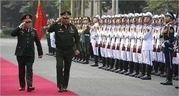 Tổng thống Putin tặng Huân chương Hữu nghị cho Đại sứ và các tướng lĩnh Quân đội Nhân dân Việt Nam