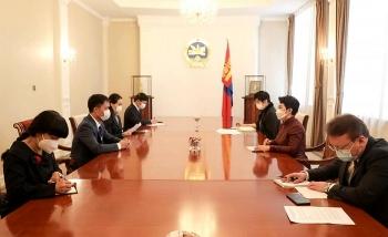 Bộ trưởng Ngoại giao B.Batsetseg mong muốn nâng cấp quan hệ Việt Nam-Mông Cổ