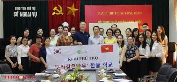 Khai giảng lớp bồi dưỡng tiếng Hàn Quốc: tạo cơ hội, môi trường giao lưu ngôn ngữ, văn hóa giữa Việt - Hàn