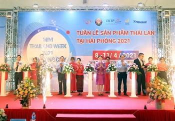 35 doanh nghiệp nhập khẩu tham gia Tuần lễ sản phẩm Thái Lan 2021 tại Hải Phòng