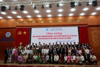 Đại sứ quán Lào đánh giá cao Đại học Sư phạm Thái Nguyên, trường Văn hóa I trong đào tạo học sinh, sinh viên nước bạn