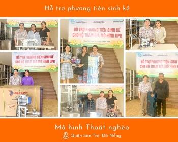 World Vision Việt Nam trao tặng phương tiện sinh kế cho 16 hộ gia đình khó khăn tại Đà Nẵng