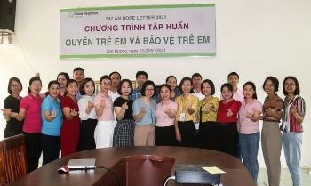 GNI tập huấn bảo vệ trẻ em cho 23 giáo viên huyện Sơn Dương (Tuyên Quang)