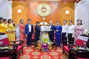 Hội Phật tử Việt Nam tại Hàn Quốc  trao ủng hộ cán bộ, chiến sĩ biên giới Tây Nam phòng, chống dịch COVID-19