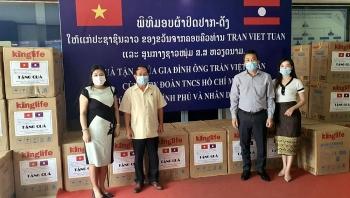 Việt kiều, TƯ Đoàn Thanh niên tiếp tục hỗ trợ Lào chống dịch