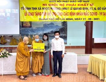 Ni Giới hệ phái Khất sĩ Việt Nam hỗ trợ Ấn Độ 1 tỷ đồng chống COVID-19
