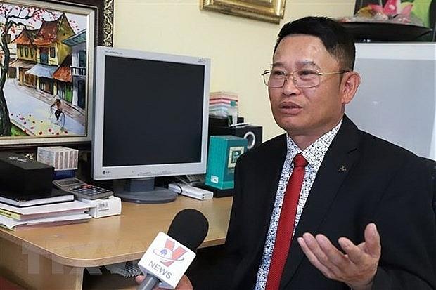 Ông Nguyễn Quang Anh, Chủ tịch Hội cựu chiến binh Việt Nam tại Đức. (Nguồn: TTXVN)