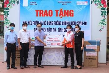 World Vision hỗ trợ nhu yếu phẩm và vật tư y tế cho các điểm cách ly tại Điện Biên