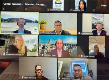 Bang British Colombia, Canada tổ chức Hội thảo trực tuyến kinh doanh tại Việt Nam