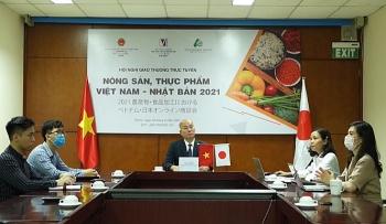 Giao thương trực tuyến nông sản, thực phẩm Việt Nam - Nhật Bản 2021