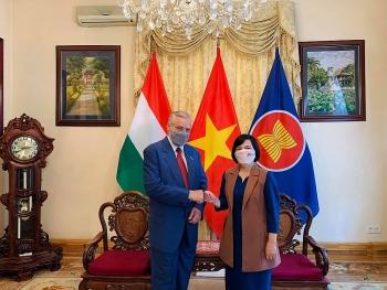 Khẳng định Hội Hữu nghị Hungary - Việt Nam là cầu nối quan trọng của nhân dân hai nước