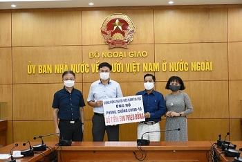 Cộng đồng người Việt Nam tại Cộng hòa Séc ủng hộ 500 triệu đồng cho Quỹ vaccine phòng, chống COVID-19