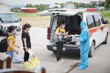 Đảm bảo an toàn, đón hơn 30.000 người lao động đang lưu trú tại Bắc Giang trở về địa phương