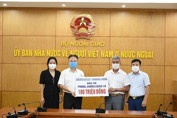 Người Việt tại Kharkov-Ucraina ủng hộ 100 triệu đồng phòng, chống COVID-19 cho quê nhà