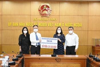 Cộng đồng người Việt tại Ba Lan ủng hộ 38.000 USD cho Quỹ vacccine và công tác phòng, chống Covid-19 ở quê nhà