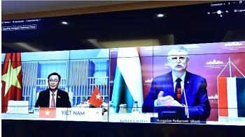 Chủ tịch Quốc hội hai nước Việt Nam - Hungary thống nhất nhiều vấn đề hợp tác, phát triển thời gian tới