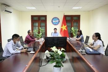 Hội Hữu nghị hai nước Việt Nam-Venezuela tăng cường trao đổi thông tin qua hình thức trực tuyến