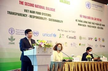 Việt Nam hướng đến xây dựng hệ thống lương thực, thực phẩm minh bạch, có trách nhiệm và bền vững