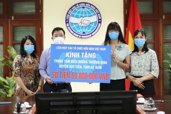 VUFO tri ân các đối tượng chính sách tại Hà Nam, Thái Nguyên nhân ngày Thương binh - Liệt sĩ