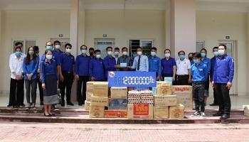 Lưu học sinh Việt Nam tại Lào nhận được sự hỗ trợ kịp thời từ TƯ Đoàn thanh niên nước bạn