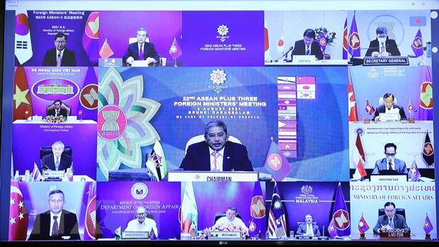 Nhieu tien trien trong trien khai Ke hoach cong tac hop tac ASEAN+3 hinh anh 2