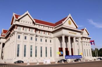 Tòa nhà Quốc hội Lào - Biểu tượng của quan hệ hữu nghị vĩ đại Việt-Lào