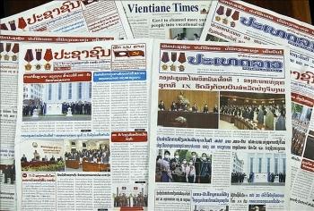 Báo chí Lào đăng tải hàng loạt tin bài về kết quả chuyến thăm hữu nghị chính thức của Chủ tịch nước Việt Nam