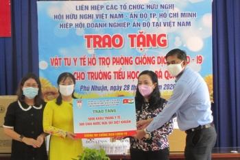 HUFO, Hội hữu nghị Việt - Ấn TP.HCM gửi công hàm chúc mừng kỷ niệm 75 năm ngày Độc lập Ấn Độ