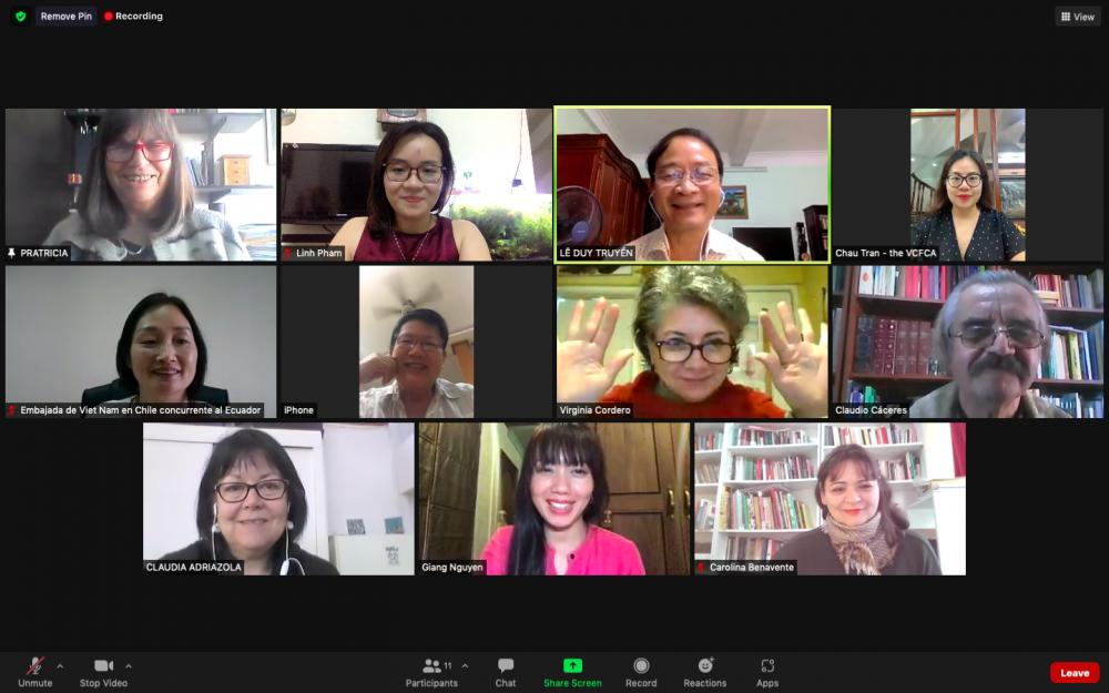 Đẩy mạnh hợp tác, giao lưu văn hóa Việt Nam-Chile