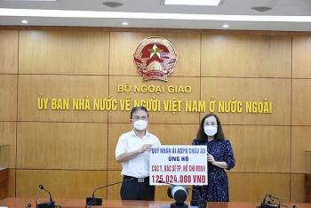 Người Việt ở châu Âu và Mông Cổ quyên góp ủng hộ công tác phòng chống dịch COVID-19 tại quê nhà