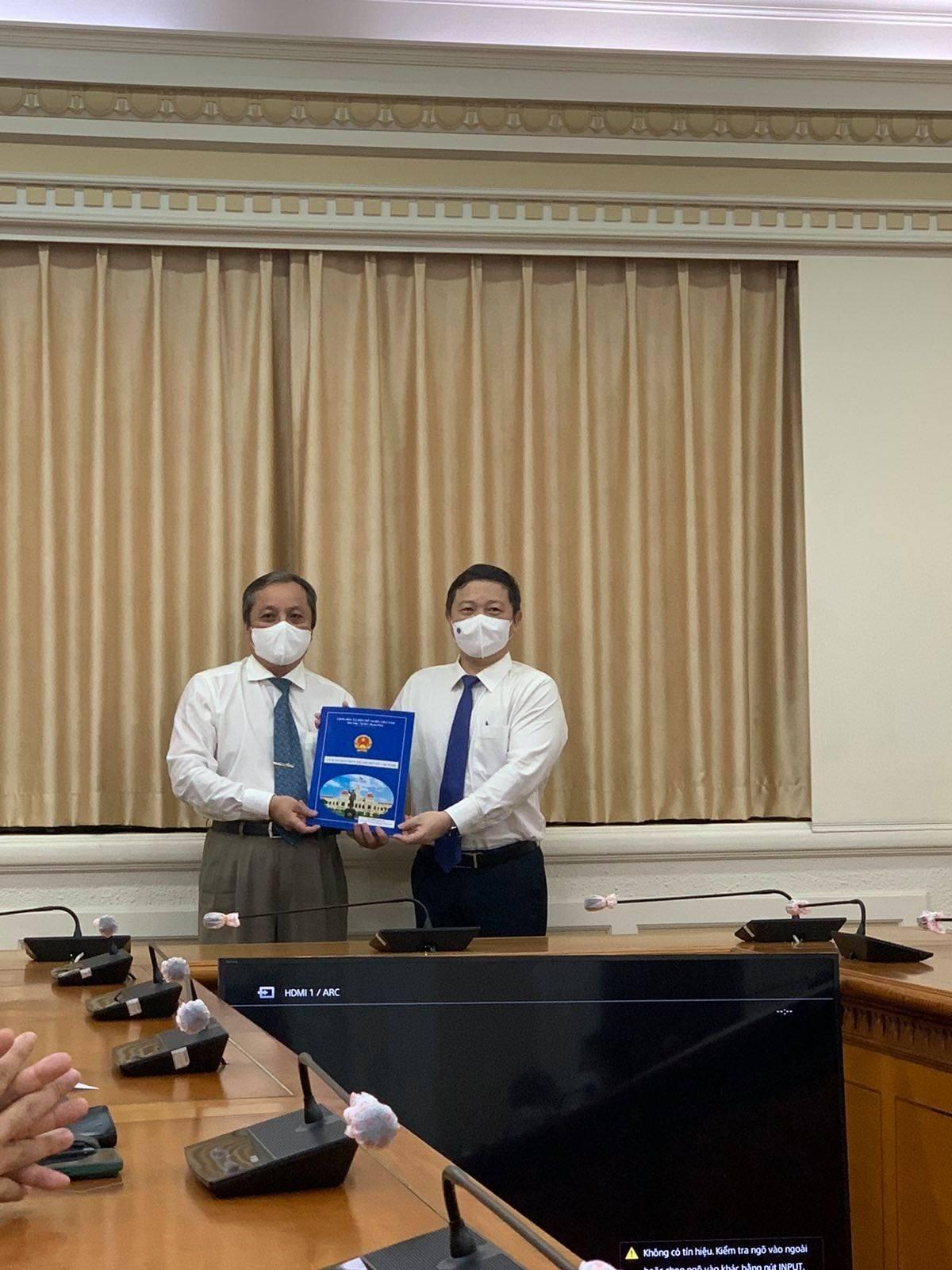 Điều động ông Đỗ Việt Hà nhận công tác tại Liên hiệp các tổ chức hữu nghị thành phố Hồ Chí Minh