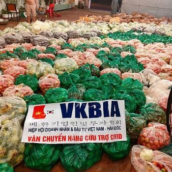 VKBIA tiếp tục hỗ trợ 5000 túi thuốc cho F0 ở thành phố Hồ Chí Minh