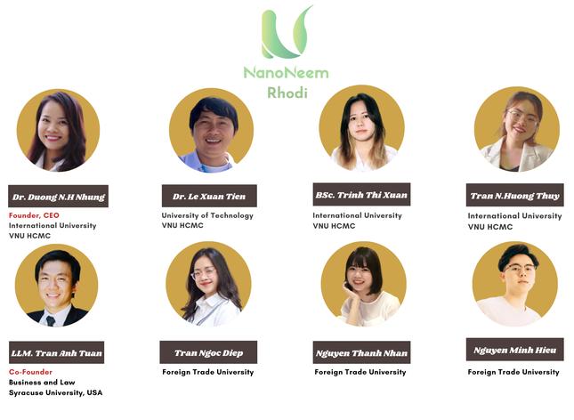 Dự án Nanoneem của Việt Nam đạt giải nhất cuộc thi có sự tham gia của 24 quốc gia