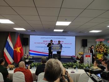 Trao tặng 15 triệu đồng cho học sinh khó khăn nhân kỷ niệm 93 năm Quốc khánh Thái Lan