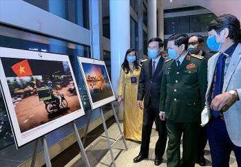 """745 tác giả từ 63 tỉnh, thành phố tham gia cuộc thi ảnh """"Tự hào một dải biên cương"""""""