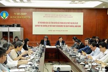 Các tổ chức quốc tế hỗ trợ 25 triệu USD giúp Việt Nam phòng, chống thiên tai