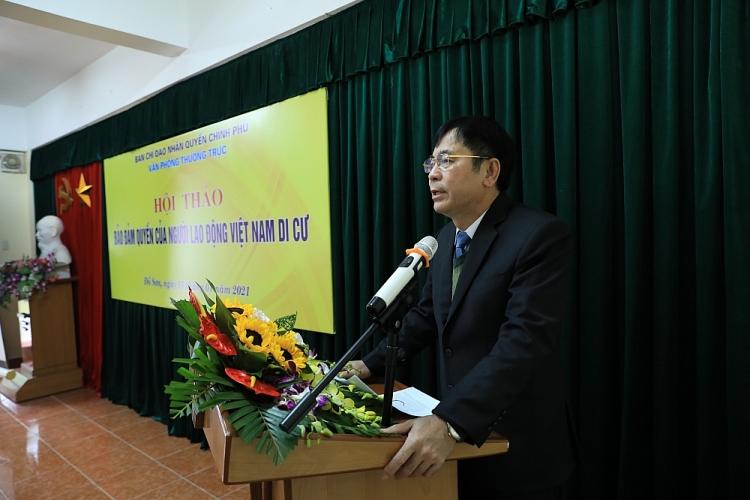 """Hội thảo """"Đảm bảo quyền của người lao động Việt Nam di cư"""": giải quyết 5 vấn đề trọng tâm"""