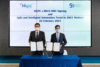 Hội đồng Năng suất và Hiệp hội Máy tính Hồng Kông hợp tác để thúc đẩy áp dụng các công nghệ mới nổi