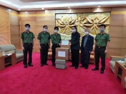Hội Hữu nghị Việt - Lào trong Công an nhân dân là đơn vị tiên phong hỗ trợ Lào chống dịch COVID-19