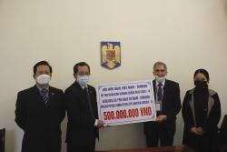 Hội chữ thập đỏ Rumani cảm kích về hành động hỗ trợ của Hội Hữu nghị Việt Nam – Rumani