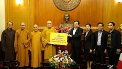 Tổ chức, cá nhân trong các tôn giáo đã ủng hộ gần 19 tỉ đồng chống dịch COVID-19