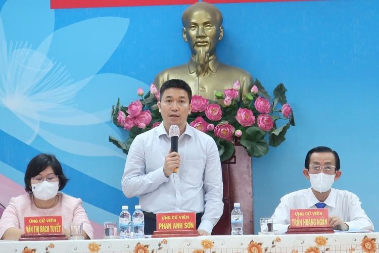 Nhân sự ứng cử đại biểu quốc hội khóa XV đơn vị bầu cử số 04 TP. Hồ Chí Minh mong muốn đóng góp cho địa phương