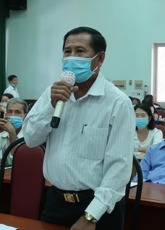 Cử tri nhất trí cao với chương trình hành động của các ứng cử viên đại biểu Quốc hội khóa XV đơn vị bầu cử số 04, TP. Hồ Chí Minh