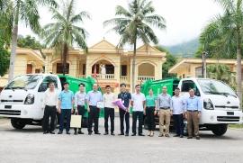 Good Neighbors bàn giao xe thu gom rác và thùng đựng rác công cộng tại huyện Mai Châu, tỉnh Hòa Bình