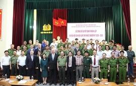 Thứ trưởng Công an Nguyễn Văn Thành được bầu làm Chủ tịch Chi hội Hữu nghị Việt Nam - LB Nga