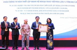 Quan hệ Việt Nam - Liên bang Nga: vững bền, chân thành và rất tự nhiên