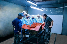 THACO xuất khẩu khung ghế Composite cho hãng RECARO (Nhật Bản)