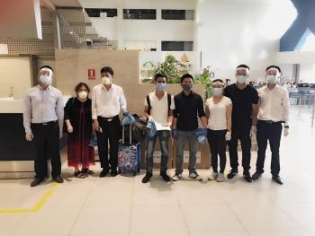 Gần 100 công dân Việt Nam tại Rumani được đón về nước
